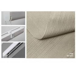 Римська штора, тканина Полотно мускат