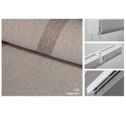 Римская штора, ткань Папирус латте