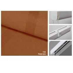 Римская штора, ткань Папирус оранж