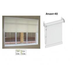 Рулонная штора для больших окон Атлант-40