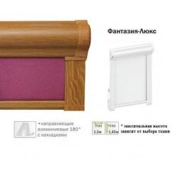 Рулонная штора Фантазия-люкс светлый дуб