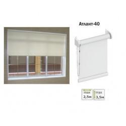 Рулонна штора для великих вікон Атлант-40