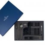 Столовые приборы набор из 16 предметов на 4 персоны черный Manufacture Villeroy & Boch
