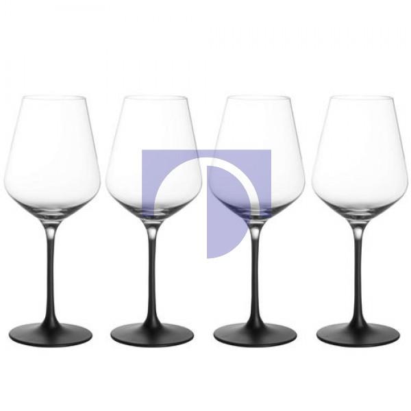 Набір з 4 келихів для білого вина 0,38 л Manufacture Rock Villeroy & Boch