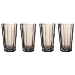 Набор из 4 высоких стаканов 0,340 л Opera Smoke Villeroy & Boch
