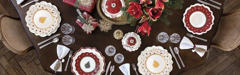 Новорічний посуд Villeroy & Boch