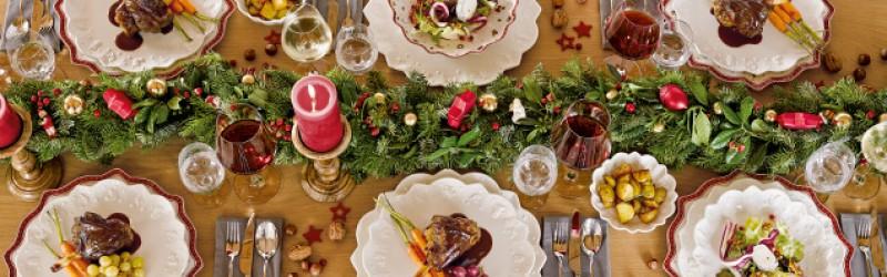 Святковий посуд і новорічні прикраси Villeroy & Boch